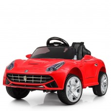 Детский электромобиль Bambi M 3176 EBLR-3 Ferrari, красный
