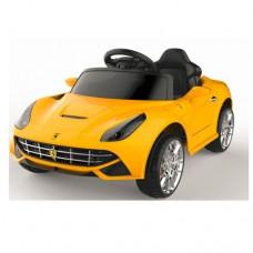 Детский электромобиль Bambi M 3176 EBLR-6 Ferrari, желтый