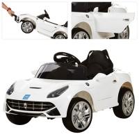 Детский электромобиль Bambi M 3176 EBR-1 Ferrari, белый