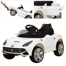 Детский электромобиль Bambi M 3176 EBR-1 Ferrari F12 Berlinetta, белый