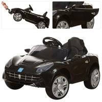 Детский электромобиль Bambi M 3176 EBR-2 Ferrari, черный