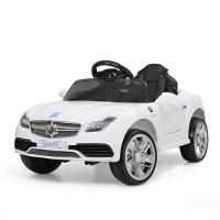 Детский электромобиль Bambi M 3177 EBLR-1 Mercedes, белый