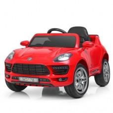 Детский электромобиль Bambi M 3178 EBLR-3 Porsche Macan, красный