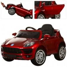Детский электромобиль Bambi M 3178 EBLRS-3 Porsche Macan, красный