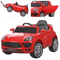 Детский электромобиль Bambi M 3178 EBR-3 Porsche Macan, красный