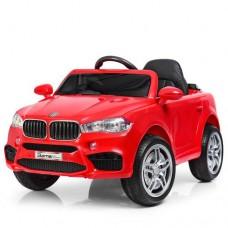 Детский электромобиль Джип Bambi M 3180 EBLR-3 BMW X5, красный