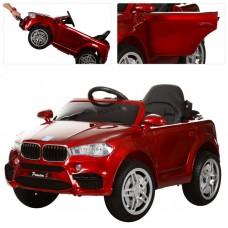 Детский электромобиль Джип Bambi M 3180 EBLRS-3 BMW X5, красный