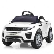 Детский электромобиль Джип Bambi M 3213 EBLR-1 Land Rover, белый