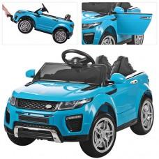 Детский электромобиль Джип Bambi M 3213 EBLR-4 Land Rover, голубой