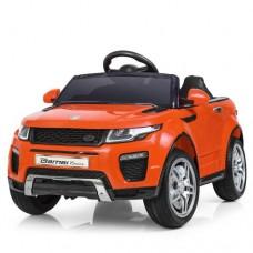 Детский электромобиль Джип Bambi M 3213 EBLR-7 Land Rover, оранжевый