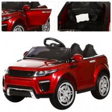 Детский электромобиль Джип Bambi M 3213 EBLRS-3 Land Rover, красный