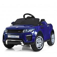 Детский электромобиль Джип Bambi M 3213 EBLRS-4 Land Rover, синий