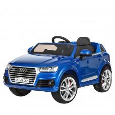 Детский электромобиль Джип Bambi M 3231 EBLRS-4 Audi Q7, синий