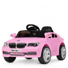 Детский электромобиль Bambi M 3271 EBLR-8 BMW, розовый