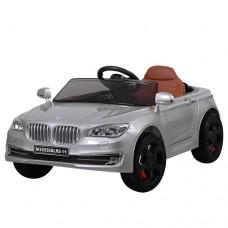 Детский электромобиль Bambi M 3293 EBLRS-11 BMW, серебристый
