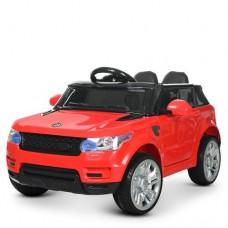 Детский электромобиль Джип Bambi M 3402 EBLR-3 Land Rover, красный