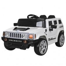 Детский электромобиль Джип Bambi M 3403 EBLR-1 Hummer, белый