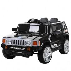 Детский электромобиль Джип Bambi M 3403 EBLR-2 Hummer, черный