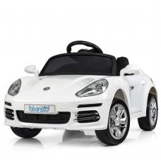 Детский электромобиль Bambi M 3446 EBLR-1 Porsche, белый