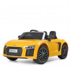 Детский электромобиль Bambi M 3449 EBLR-6 Audi, желтый