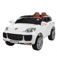 Детский электромобиль Bambi M 3557 EBLR-1 Porsche Cayenne, белый