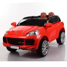 Детский электромобиль Bambi M 3557 EBLR-3 Porsche Cayenne, красный