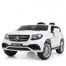 Детский электромобиль Джип Bambi M 3565 EBLR-1 (MP4) Mercedes, двухместный, белый