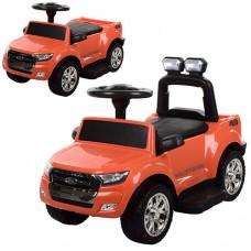 Детский электромобиль каталка толокар Bambi M 3574 EL-7 Ford Rover, оранжевый