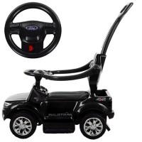Детский электромобиль каталка толокар Bambi M 3575 EL-2 Ford Rover, черный