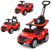 Детский электромобиль каталка толокар Bambi M 3575 EL-3 Ford Rover, красный