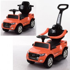 Детский электромобиль каталка толокар Bambi M 3575 EL-7 Ford Rover, оранжевый