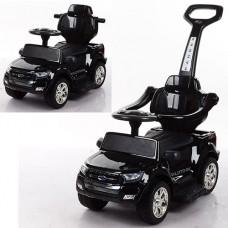 Детский электромобиль каталка толокар Bambi M 3575 ELS-2 Ford Rover, черный