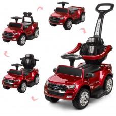 Детский электромобиль каталка толокар Bambi M 3575 ELS-3 Ford Rover, красный
