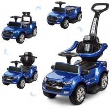 Детский электромобиль каталка толокар Bambi M 3575 ELS-4 Ford Rover, синий