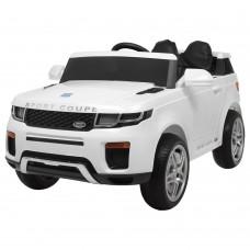 Детский электромобиль Джип Bambi M 3580 EBLR-1 Land Rover, белый