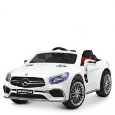 Детский электромобиль Bambi M 3583 EBLR-1 Mercedes, белый