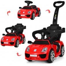 Детский электромобиль каталка толокар Bambi M3592 L-3 Porsche, красный