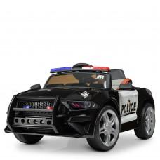 Детский электромобиль Bambi M 3632 EBLR-2-1 Ford Mustang Полиция, черный