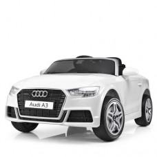 Детский электромобиль Bambi M 3633 EBLR-1 Audi A3, белый