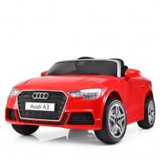Детский электромобиль Bambi M 3633 EBLR-3 Audi A3, красный