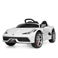 Детский электромобиль Bambi M 3661 EBLR-1 Ferrari, белый