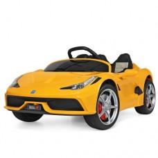 Детский электромобиль Bambi M 3661 EBLR-6 Ferrari, желтый