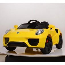Детский электромобиль Bambi M 3666 EBLR-6 Ferrari, желтый