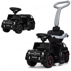 Детский электромобиль каталка-толокар Bambi M 3853 EL-2 Mercedes, черный