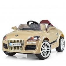 Детский электромобиль Bambi M 3891 EBLRS-13 Audi, золотой