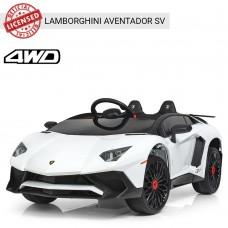 Детский электромобиль Bambi M 3903 EBLR-1 Lamborghini, белый