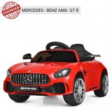 Детский электромобиль Bambi M 3904 EBLR-3 Mercedes AMG GT R, красный