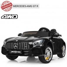 Детский электромобиль Bambi M 3905 EBLR-2 Mercedes AMG GT R, двухместный, черный