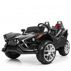 Детский электромобиль Джип Bambi M 3907 EBLR-2 Polaris Slingshot, двухместный, черный