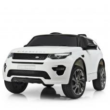 Детский электромобиль Джип Bambi M 3908 EBLR-1 Land Rover, белый